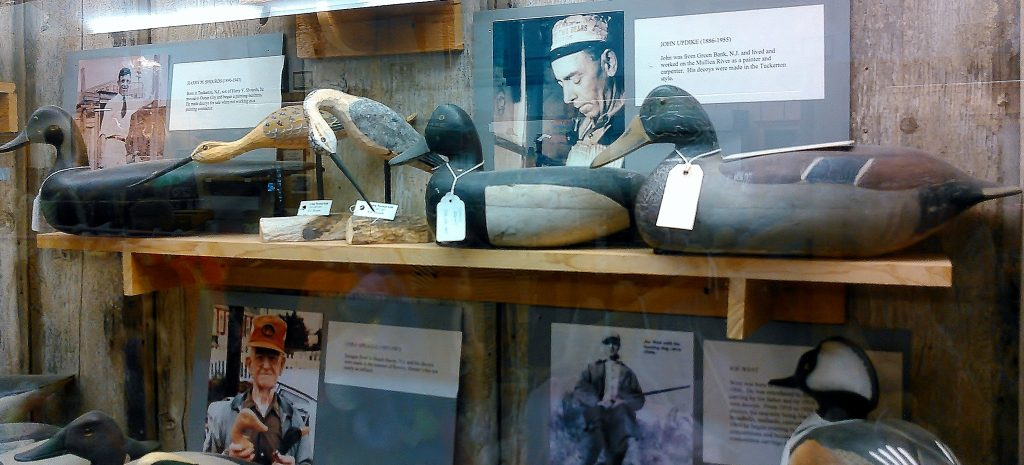A History of New Jersey Decoys And Their Carvers. A Display At The Tuckerton Seaport and Baymen's Museum in Tuckerton, New Jersey. New Jersey Decoys Rule!